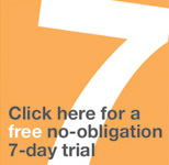 Free no obligation 7 Day free trial